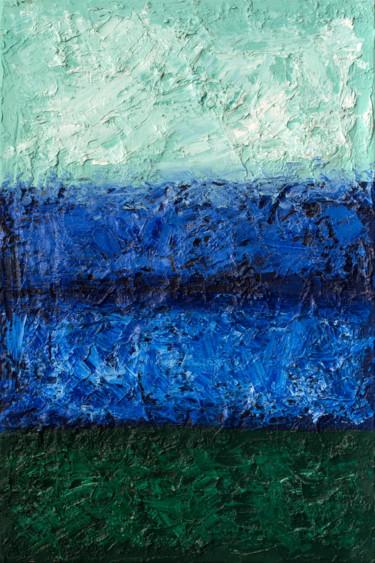 "Oleksandr Balbyshev ""Green-Deep Blue-Deep Green"""