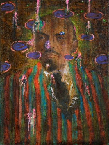 "Oleksandr Balbyshev ""LENIN IN A STRIPED JACKET"""