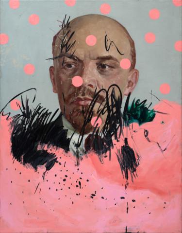 "Oleksandr Balbyshev ""Lenin with Pink Circles"""
