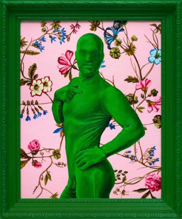 """Oleksandr Balbyshev """"Green Man"""""""