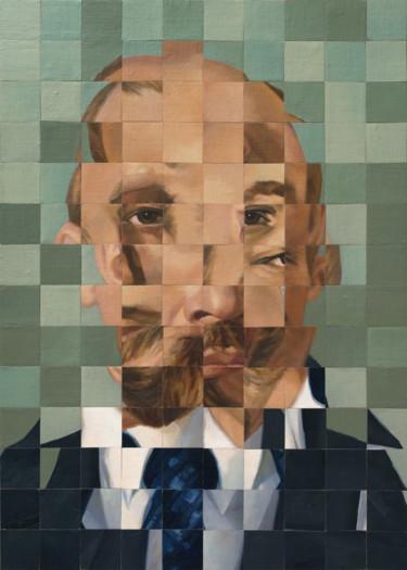 """Oleksandr Balbyshev """"Jumbled Lenin"""""""