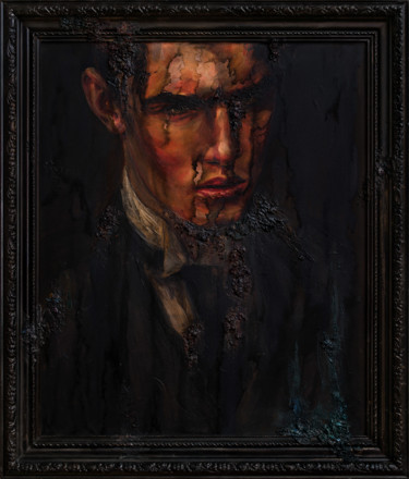 "O. Balbyshev ""Gothic Portrait of a Young Man"""