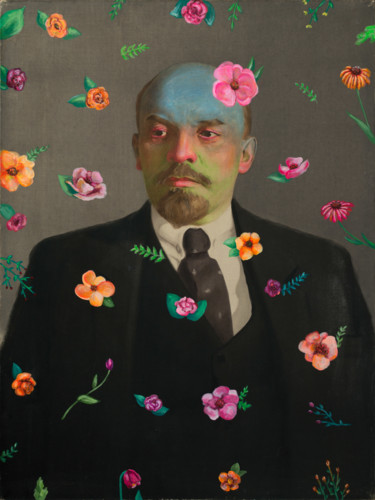 "Oleksandr Balbyshev ""Lenin with Flowers"""