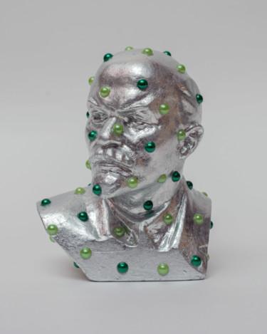 """Oleksandr Balbyshev """"Green Dot Lenin"""""""