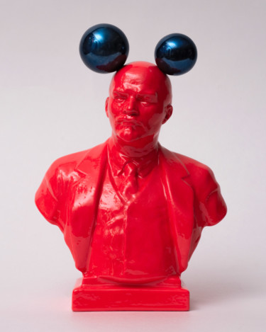 "Oleksandr Balbyshev ""Lenin with Mickey's Ears"""