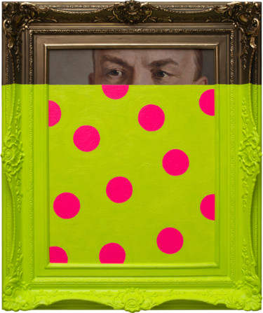 "Oleksandr Balbyshev ""Watcher with Pink Circles"""