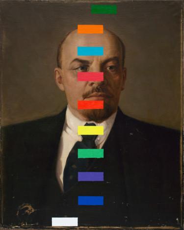 """Oleksandr Balbyshev """"Lenin With A Color Test"""""""