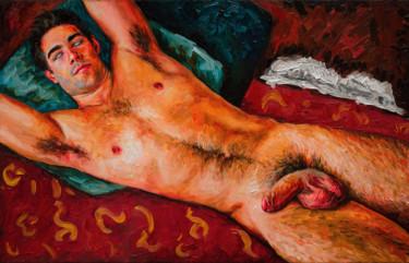 "Oleksandr Balbyshev ""Red Nude (Study)"""