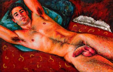 "Oleksandr Balbyshev ""Red Nude"""