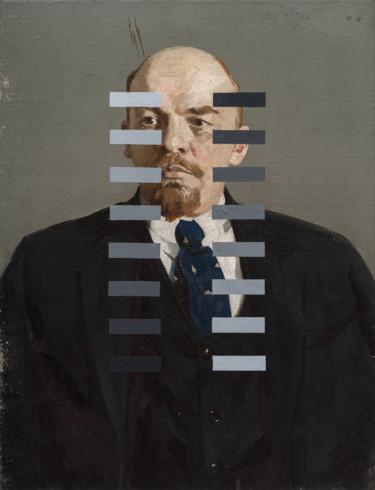 """Oleksandr Balbyshev """"Recalibration of Lenin"""""""