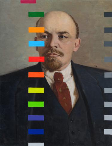 """Oleksandr Balbyshev """"Lenin With A Color Test №2"""""""