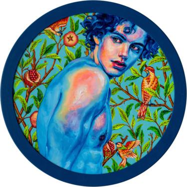 """Oleksandr Balbyshev """"Blue Skin on Blue"""""""