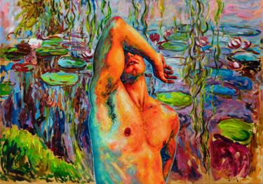 "Oleksandr Balbyshev ""Hot Day at the Lily Pond"""